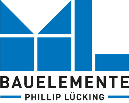 Bauelemente Lücking · Markisen, Terrassentüren, Fenster, Türen, Haustüren ·Logo