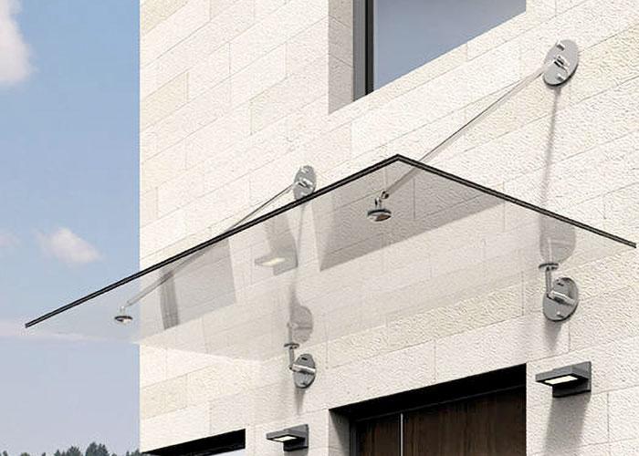 Bauelemente Lücking · Markisen, Terrassentüren, Fenster, Türen, Haustüren · Haustür Vordach