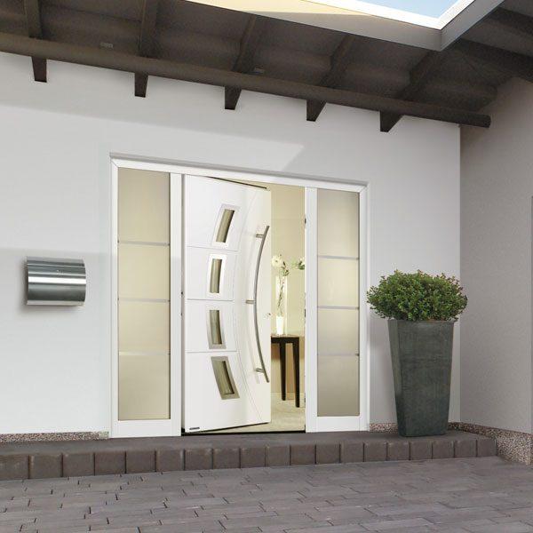 Bauelemente Lücking · Markisen, Terrassentüren, Fenster, Türen, Haustüren · Haustür
