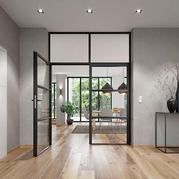 Bauelemente Lücking · Markisen, Terrassentüren, Fenster, Türen, Haustüren · Lofttür